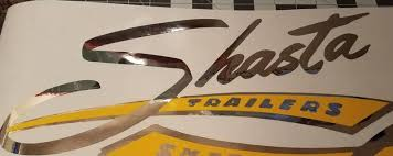 Large Shasta Since 1941 Custom Vinyl Sticker In Chrome And Etsy