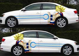 Anime Dragon Ball Goku Saiyan Car Side Door Vinyl Decal Sticker Fit Any Car Ebay