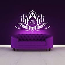 Wall Decal Application Gold Lotus Vinyl Flower Art Mandala Designs Ikea For Nursery Australia Vamosrayos