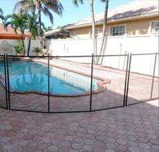 Baby Guard Pool Fence Installation In Palm Coast Florida