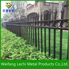 High Security Rust Assitance Electric Dipped Galvanized Steel Decorative Metal Garden Border Fence China Fencing Steel Fencing Made In China Com