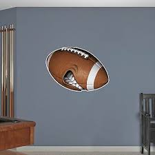 Mean Football Wall Decal Nfl High School Graphic Sticker Kids Boys Room Decor Ebay