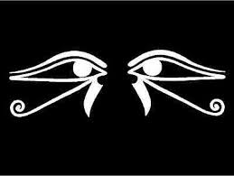 Egyptian Decals Eye Of Horus Ra Symbols Car Window Vinyl Stickers Graphics Ebay