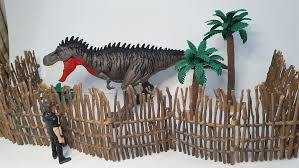 Dinosaur Fencing Plants Playset Diorama Display Toys Games Action Figures Collectibles On Carousell