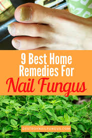 9 best home remes for nail fungus