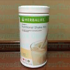 herbalife nutritional shake vanilla