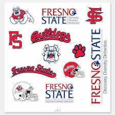 Fs Fresno State Bulldogs Logos Sticker Zazzle Com Fresno State Logo Sticker Fresno Bulldogs