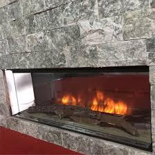 realistic wood fireplace 3d fire logs