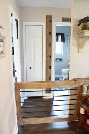Rolling Baby Dog Gate Vintage Home Love Doggate Diy Baby Gate Barn Door Baby Gate Dog Gate