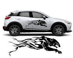Tribal Panter Car Decal Car Sticker Tuning Stickers Car Etsy