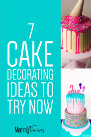 7 easy cake decorating trends for