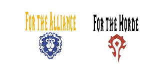 Alliance Horde Warcraft Vinyl Decal Fan Art World Of Warcraft Gamer Gifts Yeti Decal Cup Stick Etsy Handmadegift Yeti Decals Custom Decals Vinyl Decals