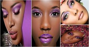 purple eyeshadow for black women
