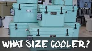 what size cooler do you need how to