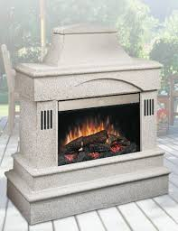 rocklin outdoor electric fireplace