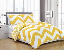 3 piece zig zag comforter bedding set