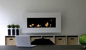 wall mounted bioethanol fireplaces