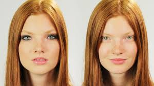 models without makeup you