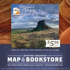 2020 calendar of utah geology available