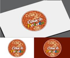 logo design for couch potato by vgb
