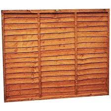 6 X 6ft Wickes Co Uk Fence Panels Paneling Shed Design