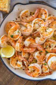 Shrimp Scampi - Dinner, then Dessert