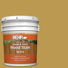 Behr 5 Gal M320 6 Tangy Green Solid Color House And Fence Exterior Wood Stain 03005 The Home Depot