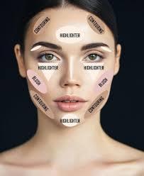 face contouring tips highlight