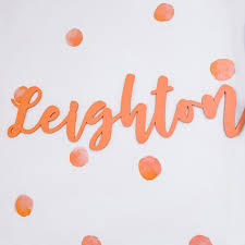 Custom Script Names For Shared Kids Room Craftcuts Com
