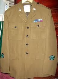 dress uniform tunic woii