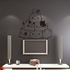 Diy Removable Cat Wall Stickers Home Decorative Decal Kids Nursery Baby Room Wall Decor
