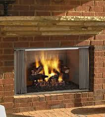 majestic 36 inch outdoor wood fireplace