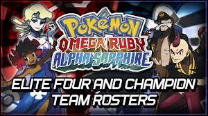 Pokemon Omega Ruby 3DS Rom Elite Four & Contests Explained
