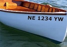 Amazon Com Stickerloaf Brand Custom Canoe Boat Registration Number Decal Set Boat Numbers Boating Jetski Luxury Yacht Kayak Canoe Airboat Skiff John Boat Seadoo License Stickers Handmade