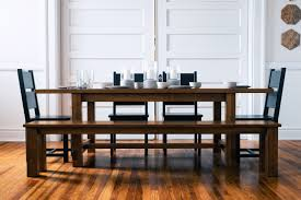 Farmhouse Table Handcrafted Farmhouse Table In Dining Room Sets