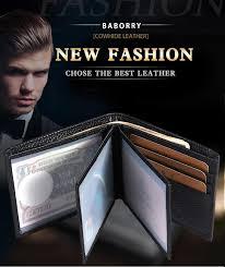 driver license holder genuine leather