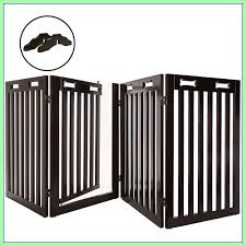 60 Reference Of Free Standing Outdoor Fence With Gate In 2020 Dog Gate Wood Dog Freestanding Pet Gate