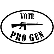 18 5cm 11 8cm Vote Pro Gun Ar15 Ar 15 Car Truck Auto Window Vinyl Decal Sticker Car Sticker Protection Black Sliver C8 0973 Ar15 Ar15 Bufferar15 Barrel Aliexpress