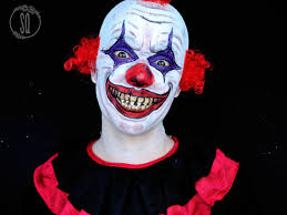 evil clown makeup tutorial silvia quirós