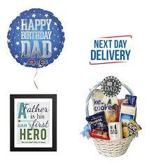 birthday gift basket balloon