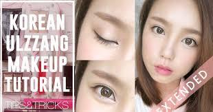 how to korean ulzzang uljjang make up