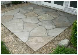 lovable cement slab patio ideas