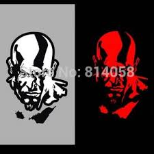 Free Shipping Reflective Car Sticker Motorcycle Stickers God Of War Kratos Motorcycle Bulb Motorcycle Wall Stickersmotorcycle Gas Tank Stickers Aliexpress