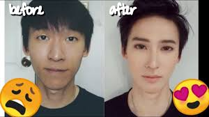 make up tutorial cowok korea you