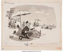 Claude (Claude Smith) Playboy Cartoon Illustration Original Art ...