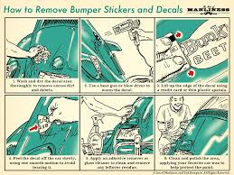 How To Remove Bumper Stickers And Car Decals The Art Of Manliness