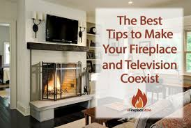 fireplace and tv coexist