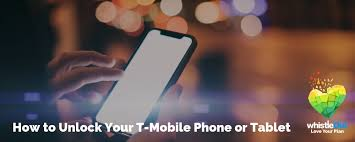 unlock your t mobile phone or tablet
