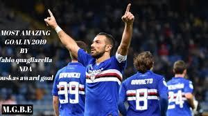 FIFA PUSKAS AWARD 2019 NOMINEE Fabio Quagliarella quagliarella goal vs  napoli sampdoria goal - YouTube