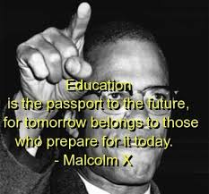 inspirational quotes from malcolm x quotesgram